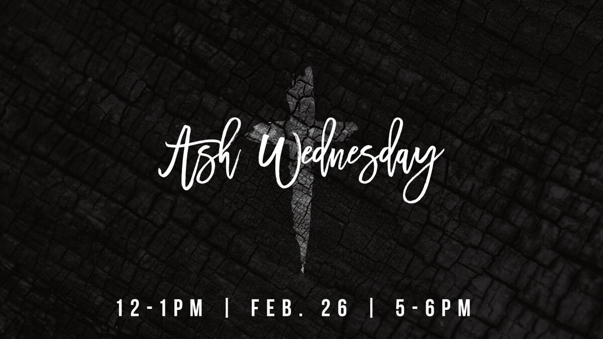 Ash Wednesday Observance
