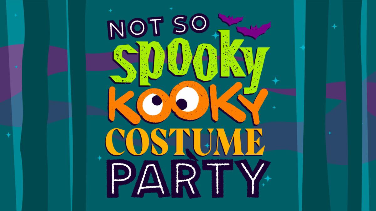 RidgeKids Not So Spooky Kooky Costume Party