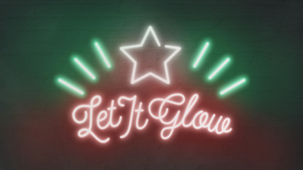 Student Ministry Let It Glow Christmas Party